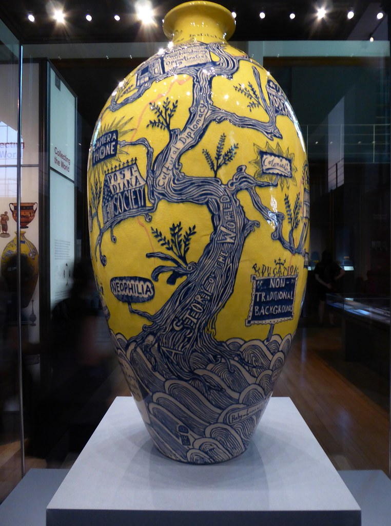 Grayson Perry The Rosetta Vase 2011 The British Museum