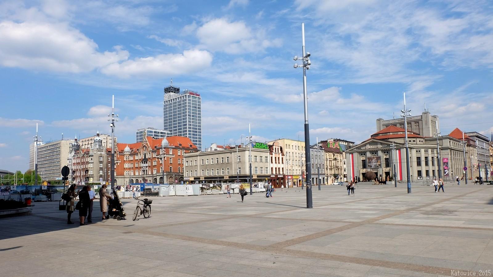 Rynek, Katowice, Polska