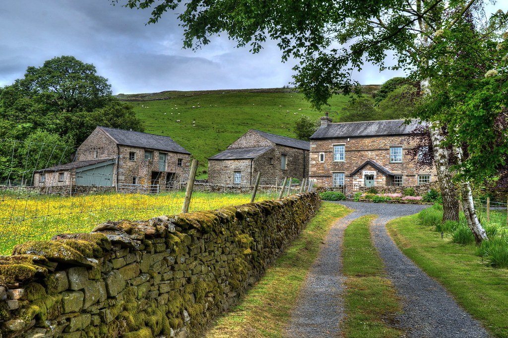 Early 18th century farmhouse in Dent Dale Harber Gill Farm…