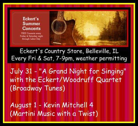 Eckert's Summer Concerts 7-31, 8-1-15