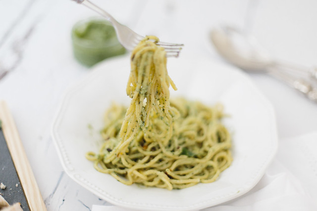 Pesto Pasta Recipe What Olivia Did