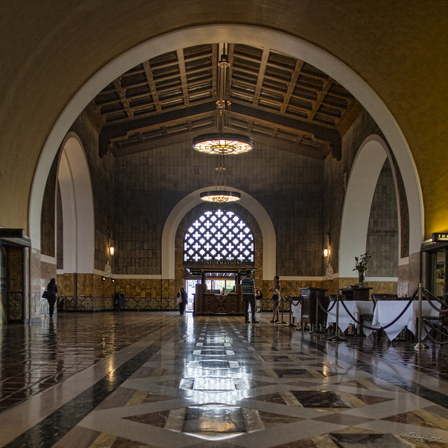 Union Station Los Angeles main hall