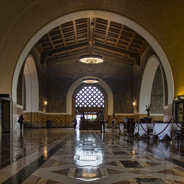 Union Station Los Angeles main hall