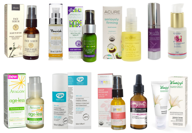 Natural Facial Serums