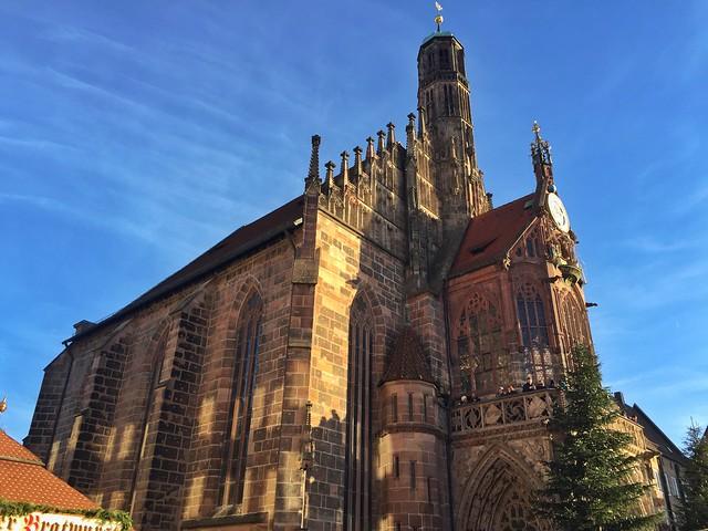 Frauenkirche en Núremberg (Baviera, Alemania)