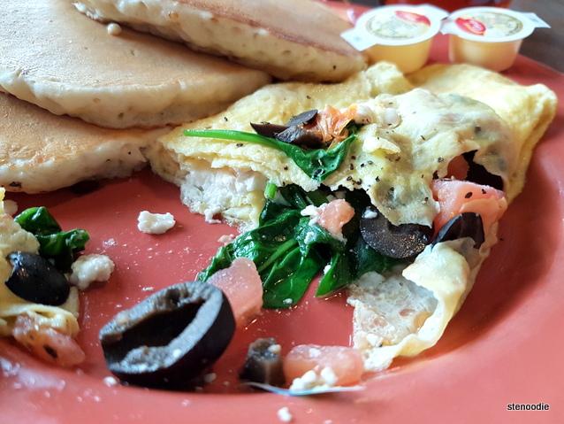 Golden Griddle omelettes