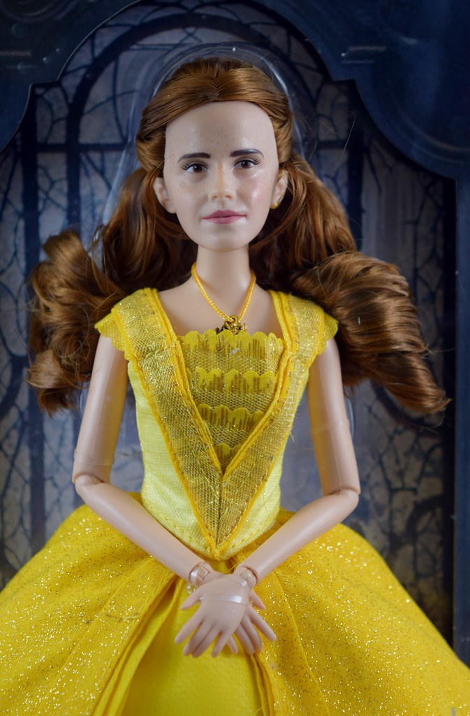 How To Create Belles Hairstyle From Beauty And The Beast : Belle film collection 11 1 2 doll live action beauty au2026 flickr