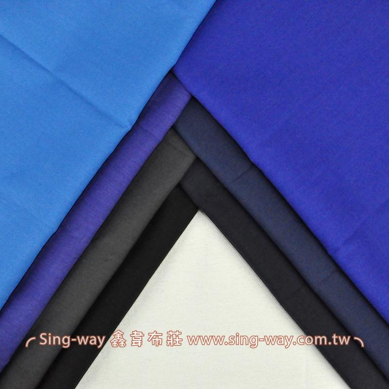 3C290074 冷色  素面T/C布 薄棉布
