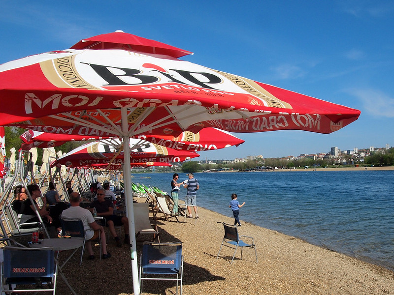 Belgrade beach