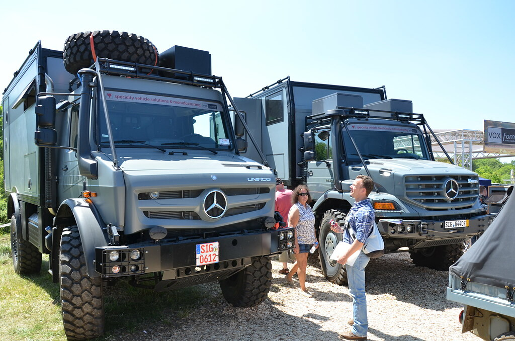 Mercedes Benz Unimog And Zetros Camper Don Felix Flickr