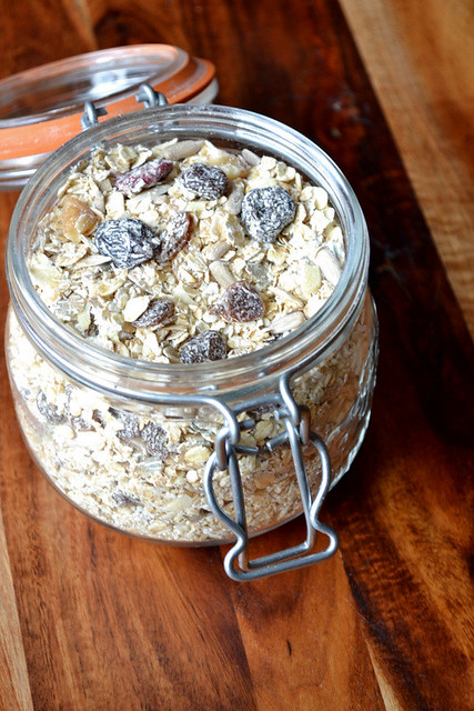 Recipe for Homemade Muesli
