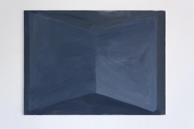 Tobias Buckel_Bow-tie_2014_vinyl-canvas_100x135cm