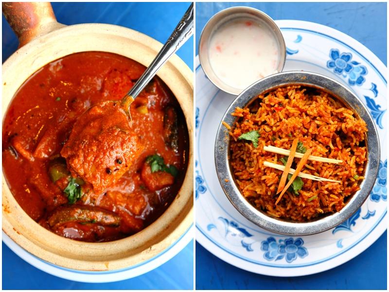 Claypot Fish Curry & Briyani