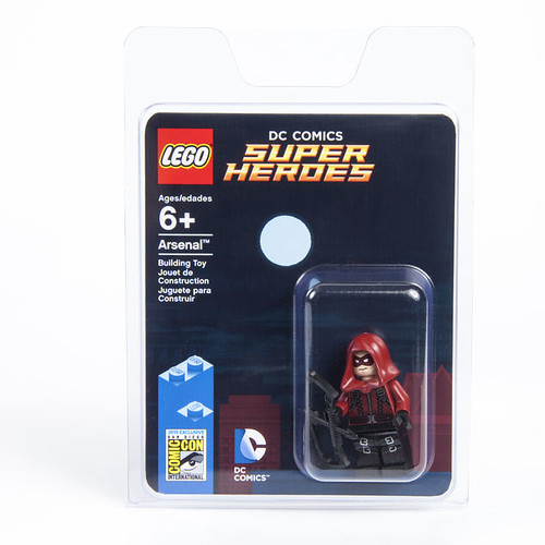 LEGO DC Arsenal SDCC 2015 Packaging