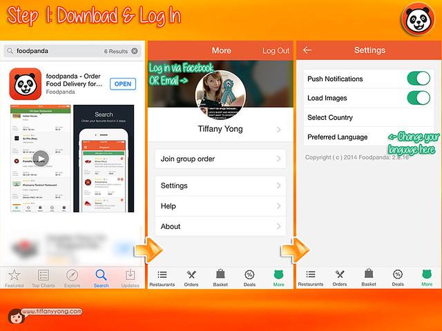 FoodPanda App User Guide 1