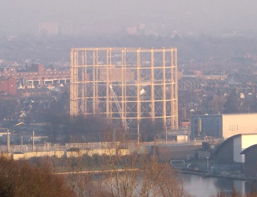 Distant gas holder
