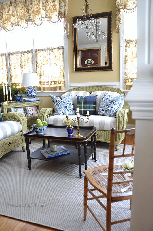 Sunroom-Blue and White-Chinoiserie-Housepitality Designs