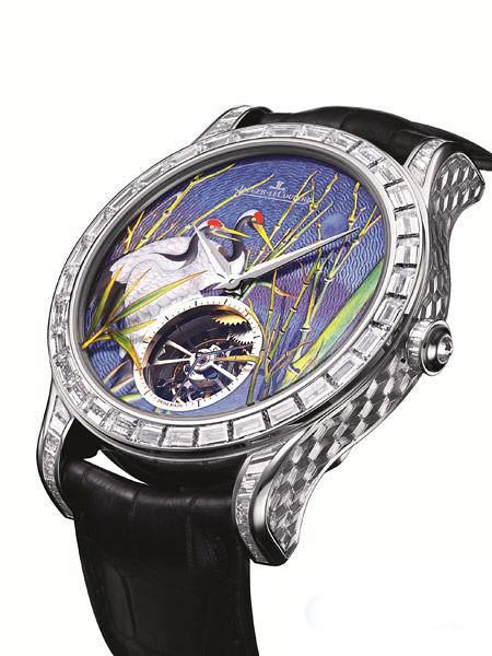 LeCoultre Master Grand Tourbillon Enamel master Tourbillon enamel watches
