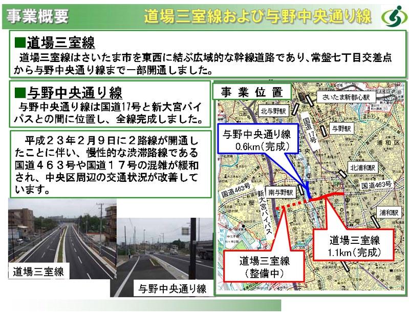 浦和市営モノレールが東北新幹線の下をくぐるはずだった道場三室線