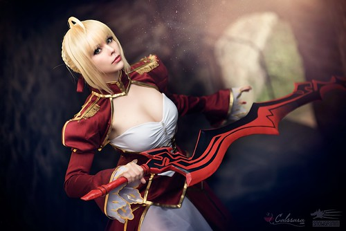 Saber Nero (Fate/Extra) | by Calssara