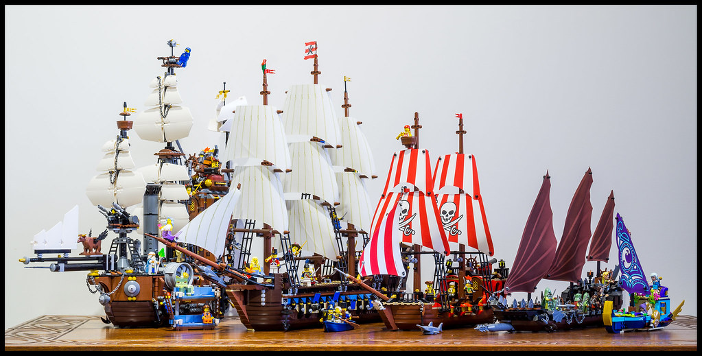LEGO Ship Comparison | Here is another comparison of LEGO sh ... Lordoftherings