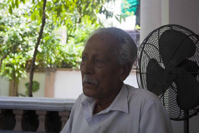 Jantin Chandra Das - who saw Mahatma Gandhi - Hyderi Manzil or Gandhi Bhawan - Kolkata, India