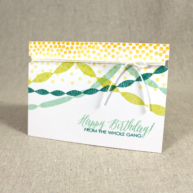 Group Birthday Card