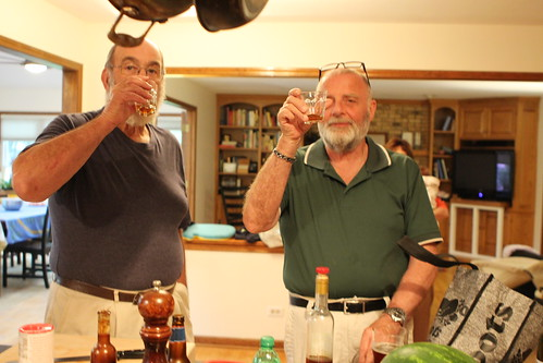 Grandfathers Throwing Back Some Aperitruffe