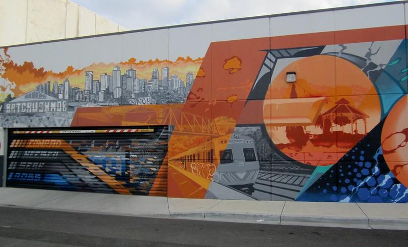 Mural, Footscray, June 2015