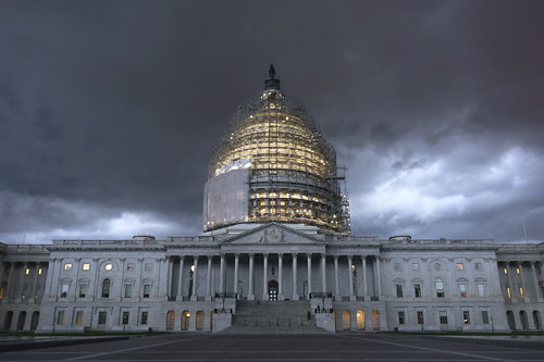 Severe Storms at the US Capitol