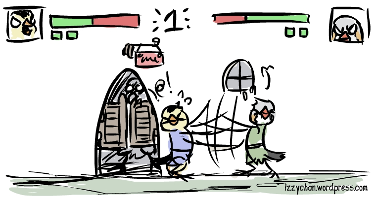 danger bird webcomic finch fight