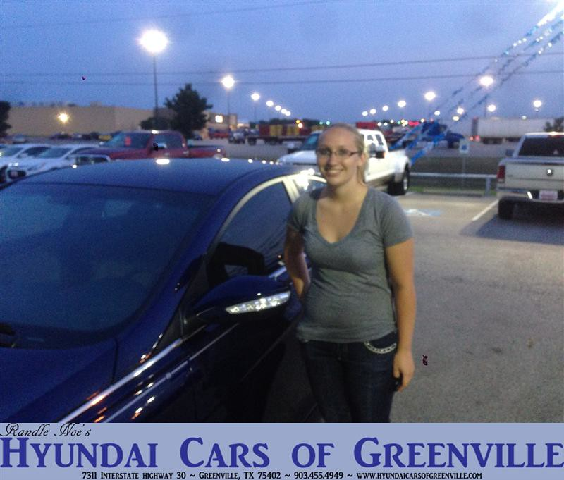 Hyundai Greenville Sc: #HappyAnniversary To Amber Buechler On Your New Car From P