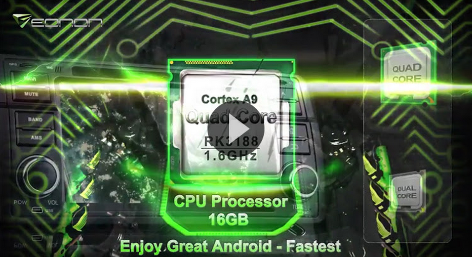 New Dual-Core Android 4.4 Car DVD Released!