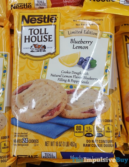 Toll House Cookie Cake Caloires