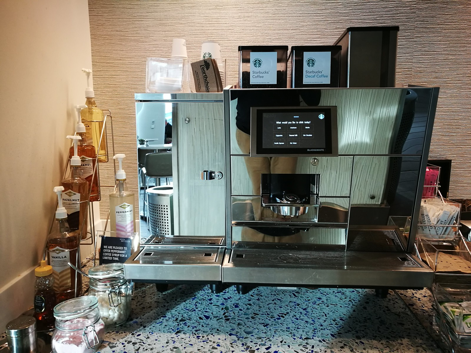 Starbucks espresso machine