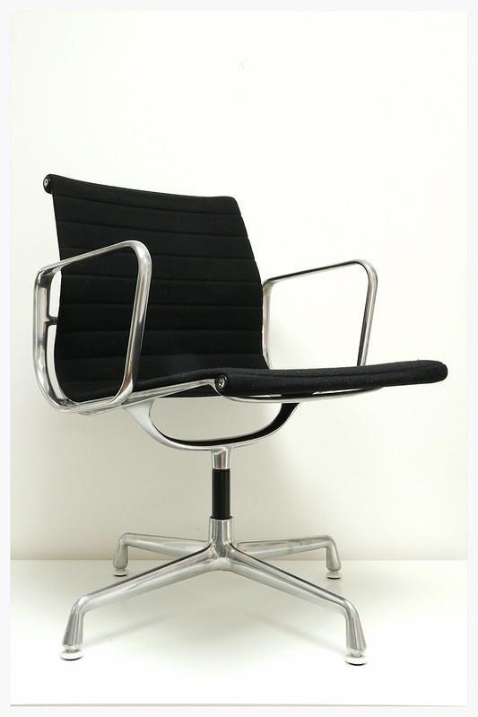 Original eames charles ea107 fauteuil de bureau vitra herman miller poulsen b - Fauteuil charles eames original ...