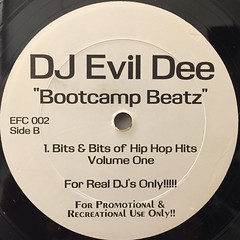 DJ EVIL DEE:BOOTCAMP BEATZ(LABEL SIDE-B)