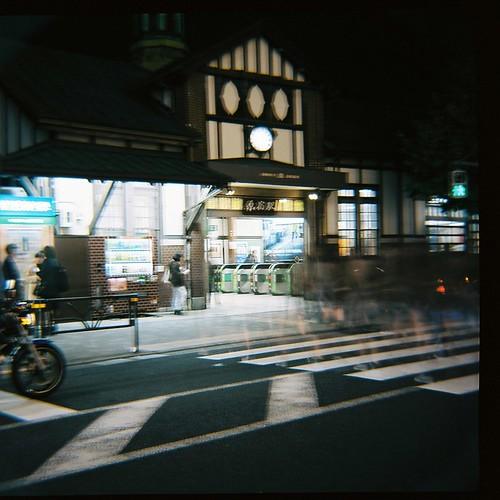原宿駅(at Night)
