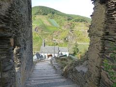 Stufen vor der Burg Metternich