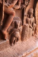 Cave 1. Ganapathy under 18 armed Nataraja