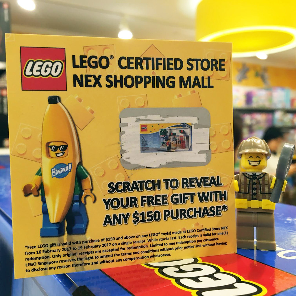 LEGO Certified Store Opening at NEX Shopping Mall
