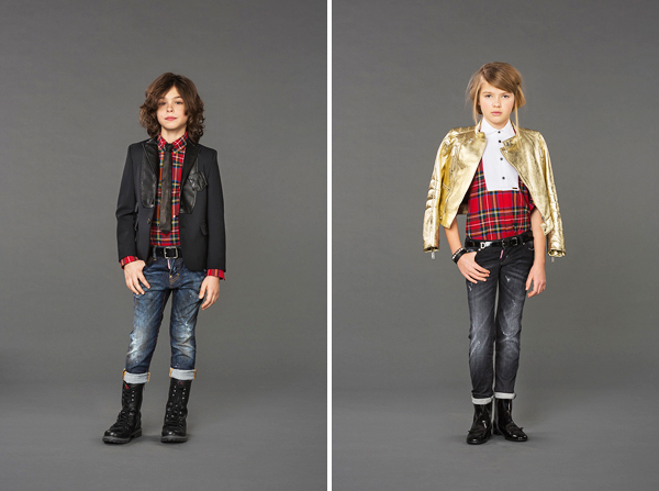 Dsquared2 Junior Fall / Winter 2015 -2016 Collection