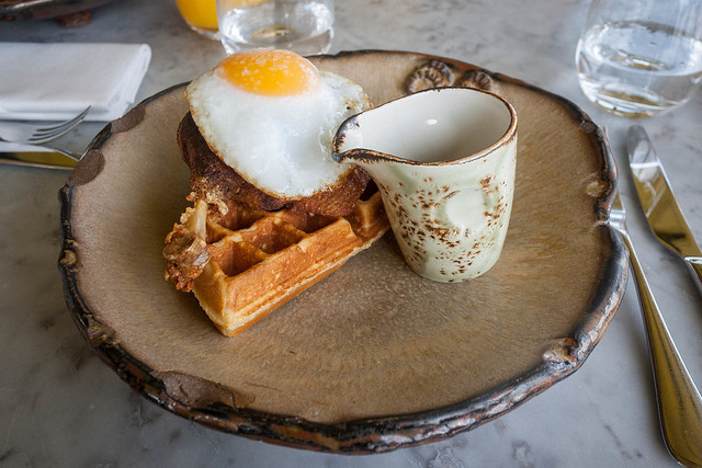 Duck & waffle at Duck & Waffle, London