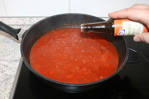 34 - Mit Worcestersauce abschmecken / Taste with worcester sauce