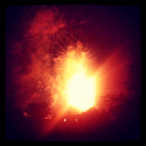 The grand finale of last night's Liberty Township fireworks...