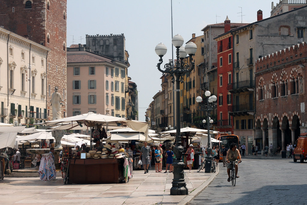 the streets of verona