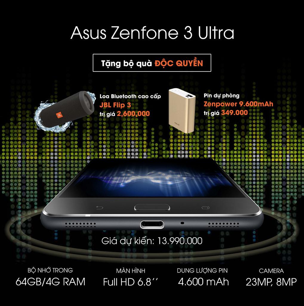 Sforum - Trang thông tin công nghệ mới nhất 32013879871_40049fa8a8_b Asus Zenfone 3 Ultra - Đặt trước nhận quà khủng