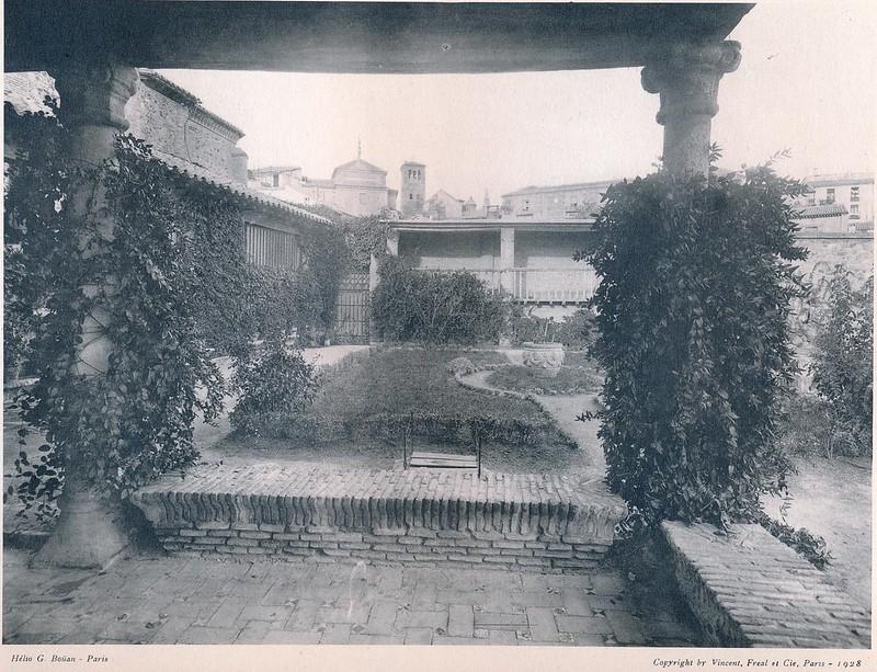 Museo del Greco.  Del libro Petits Édifices, publicado en Paris en 1928 por los editores Vincent, Fréal et Cie.