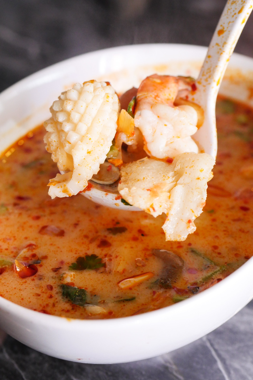 Soi Thai Soi Nice: Seafood Tom Yum Soup