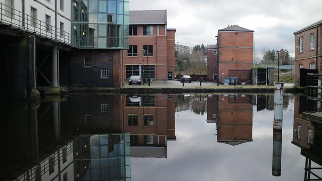 Victoria Quays crisp reflection 2